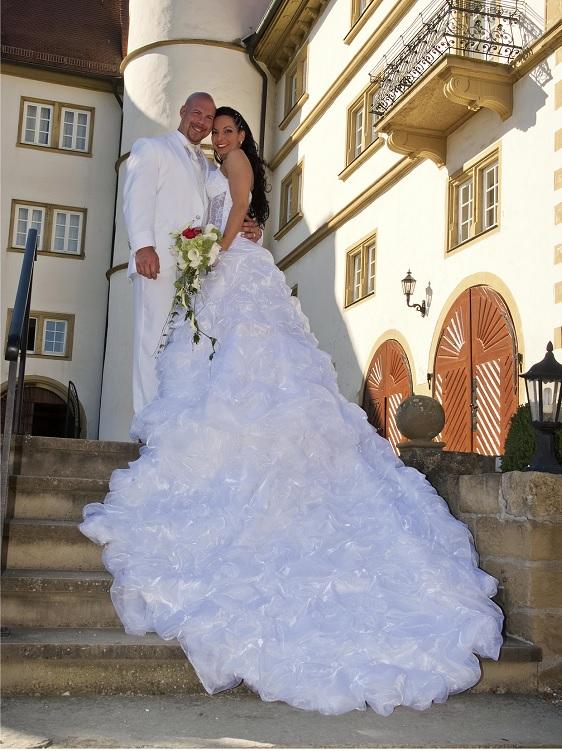 Brautpaar romantisch